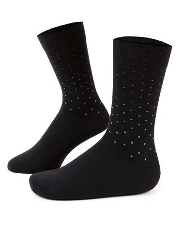 Pierre Cardin Erkek   Çorap A021SZ013.OUT.NOK-K20.001 Siyah